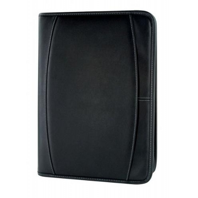 Boardroom A4 Zippered Compendium (4805Bk_KEY)