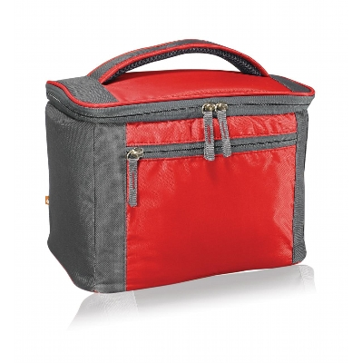 Below Zero 6 Pack Cooler Red (5902Rd_KEY)