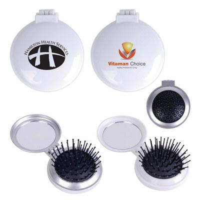 Compact Pop Up Brush / Mirror Set (LL1634_LL)