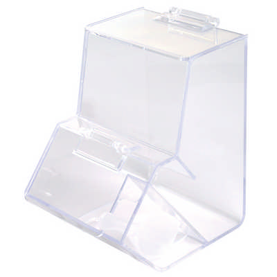 Clear Dispenser with Scoop
