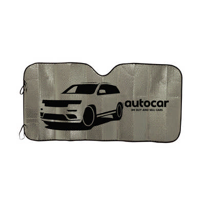 Concertina Metallic Car Sun Shade (LN9105_LL)