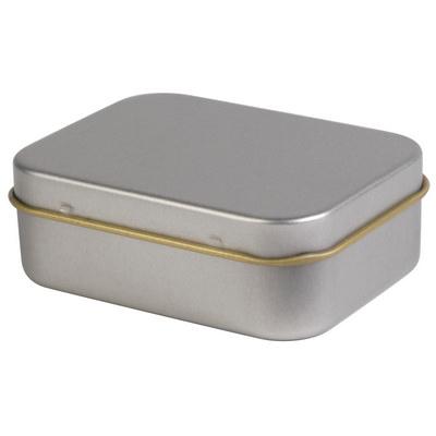 Silver Rectangular Tin (LL321_LLNZ)