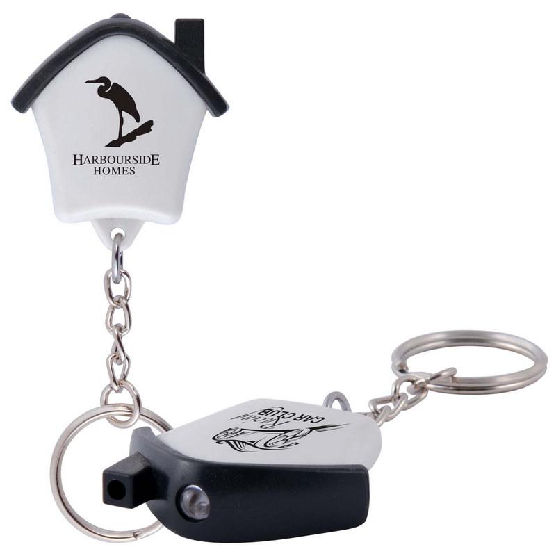 Mini House Flashlight Keytag (LL467_LLNZ)