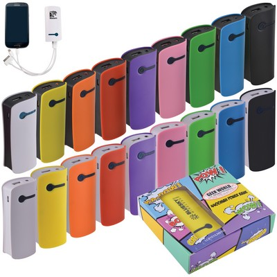 Curve Tablet Power Bank - (Includes Decoration) LN9101_LNZ