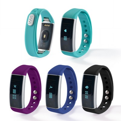 Trainfit Fitness Band with Heart Rate