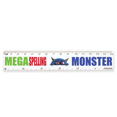 Plastic Ruler 15cm - (printed with 1 colour(s)) LL14_LLPRINT