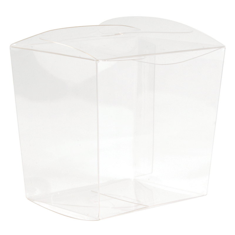 Clear Mini Noodle Box - Includes Decoration LL3153_LLPRINT