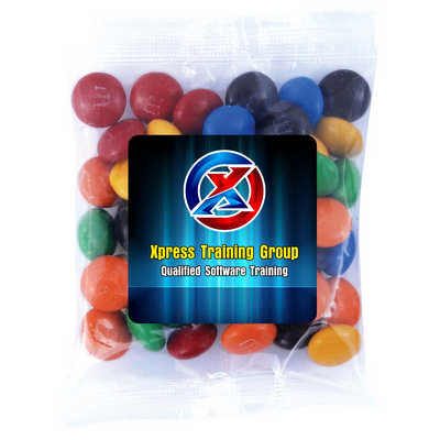 M&M`s in 50 Gram Cello Bag (LL33012_LLPRINT)