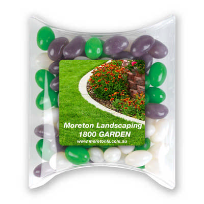Corporate Colour Mini Jelly Beans in Pillow Pack (LL4866_LLPRINT)