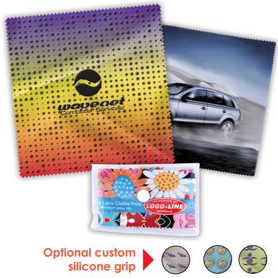 Custom Superior Hi Microfibre Lens Cloth - Includes Decoration LN608_LLPRINT