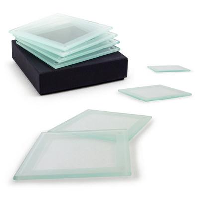 Glass Coaster Set (B855_MXM)