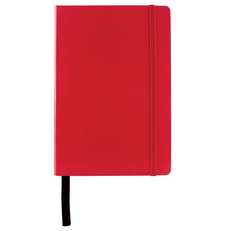 City A5  Notebook  - Red (C1126_MXM)