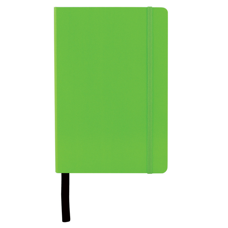 City A5  Notebook  - Lime (C1128_MXM)