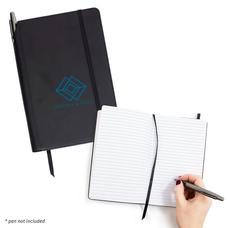 Executive A5 Notebook With Pen Holder (C1138_MXM)