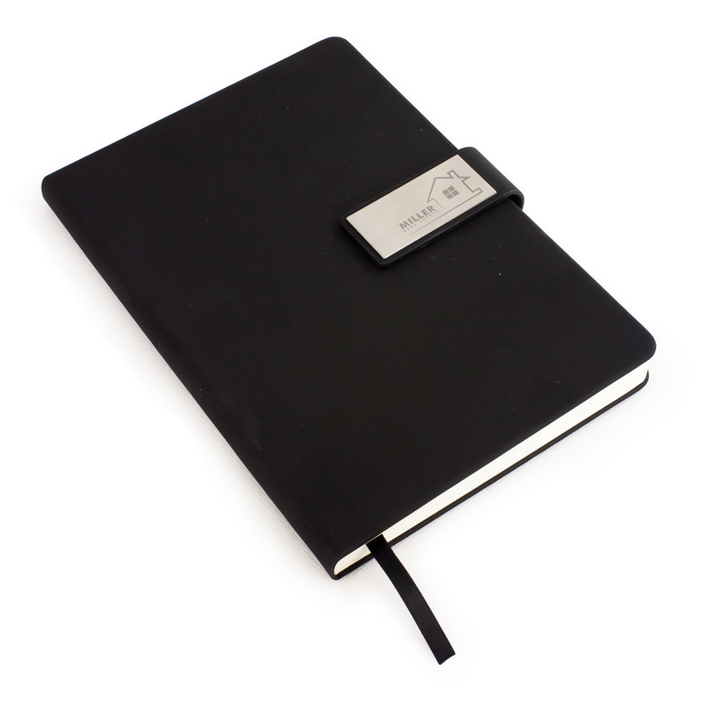 Forbes A5 Notebook - Black (C1139_MXM)