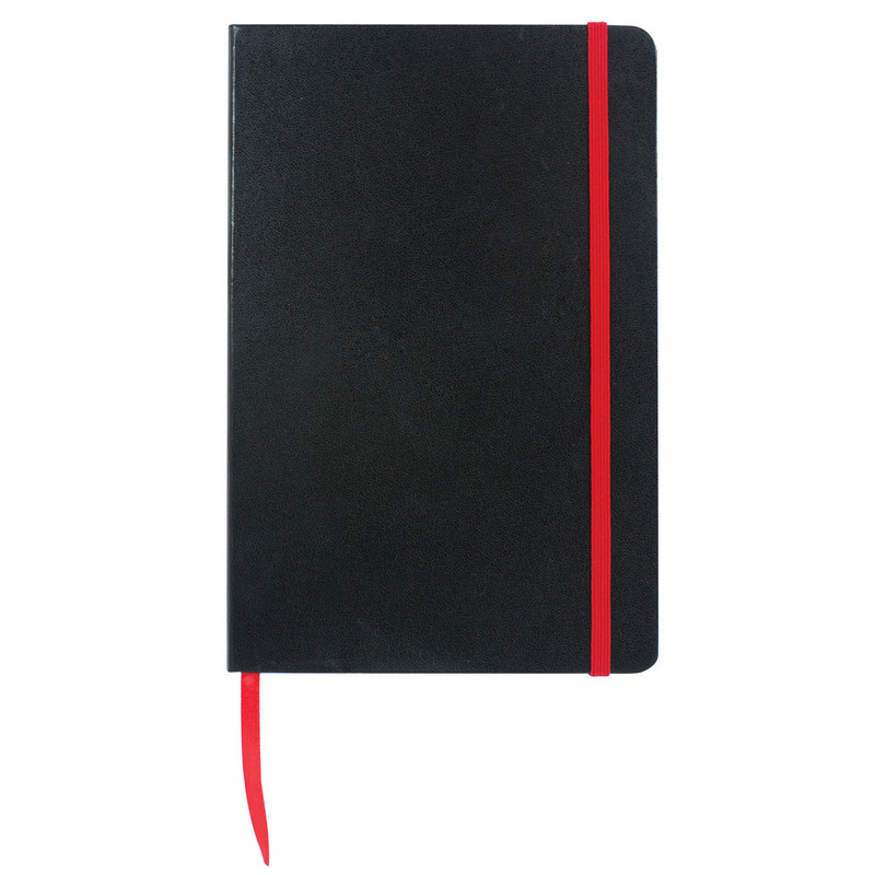 Excel A5 Coloured Edge Notebook - Red (C1215R_MXM)