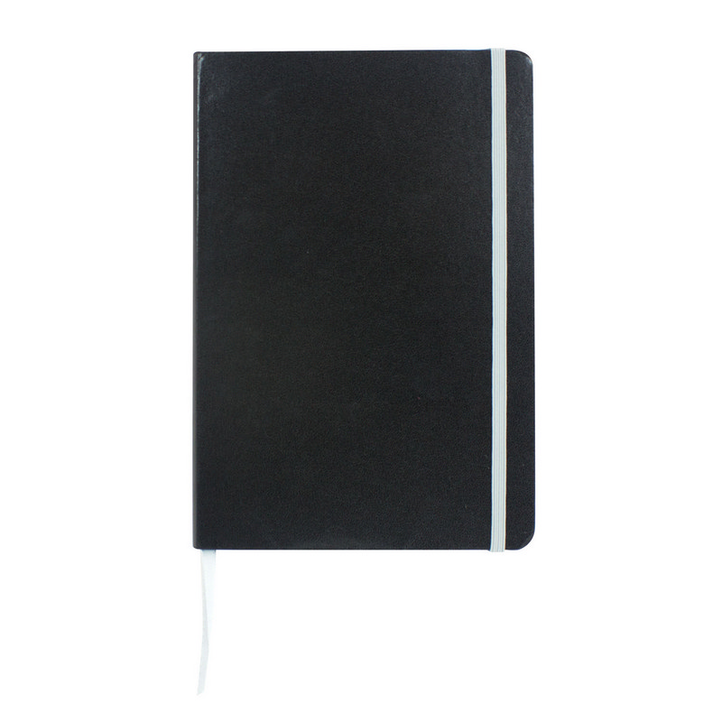 Excel A5 Coloured Edge Notebook - Silver (C1215S_MXM)
