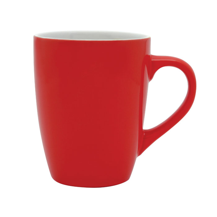 Bella Coffee Cup - Red/White