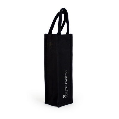 Jute Wine Bag - Single (CA3650_MXM)