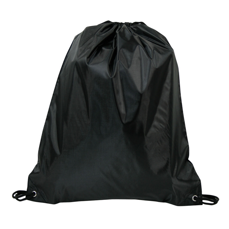 Drawstring Bag 210D - Black (DS150B_MXM)