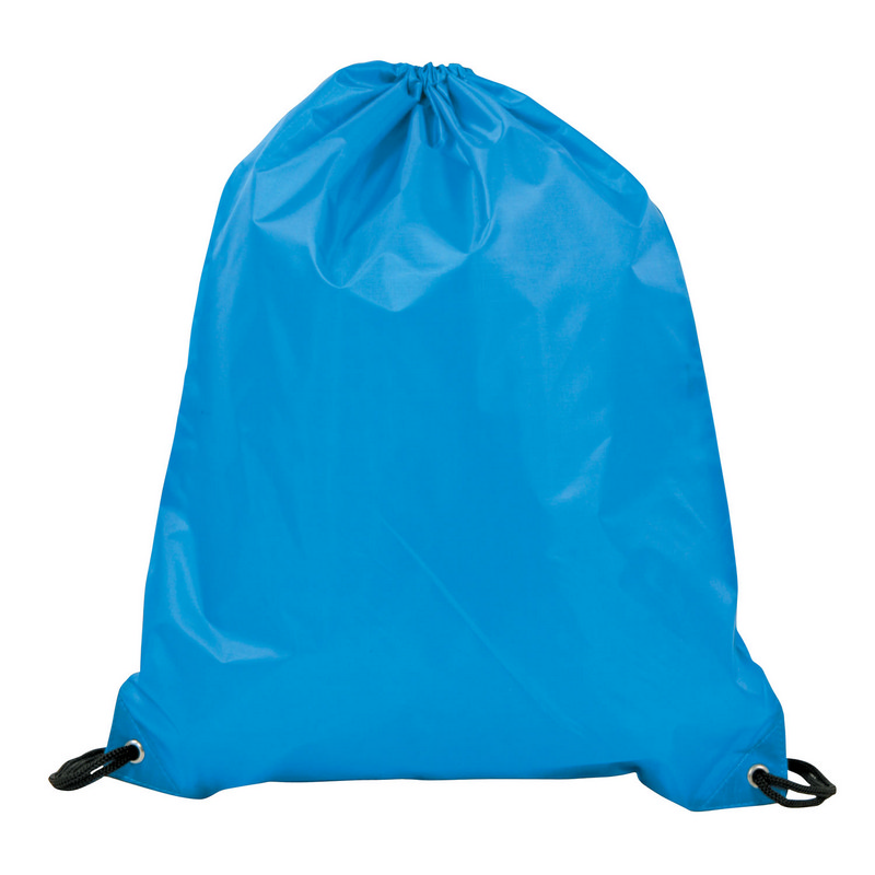 Drawstring Bag 210D - Cyan (DS150C_MXM)