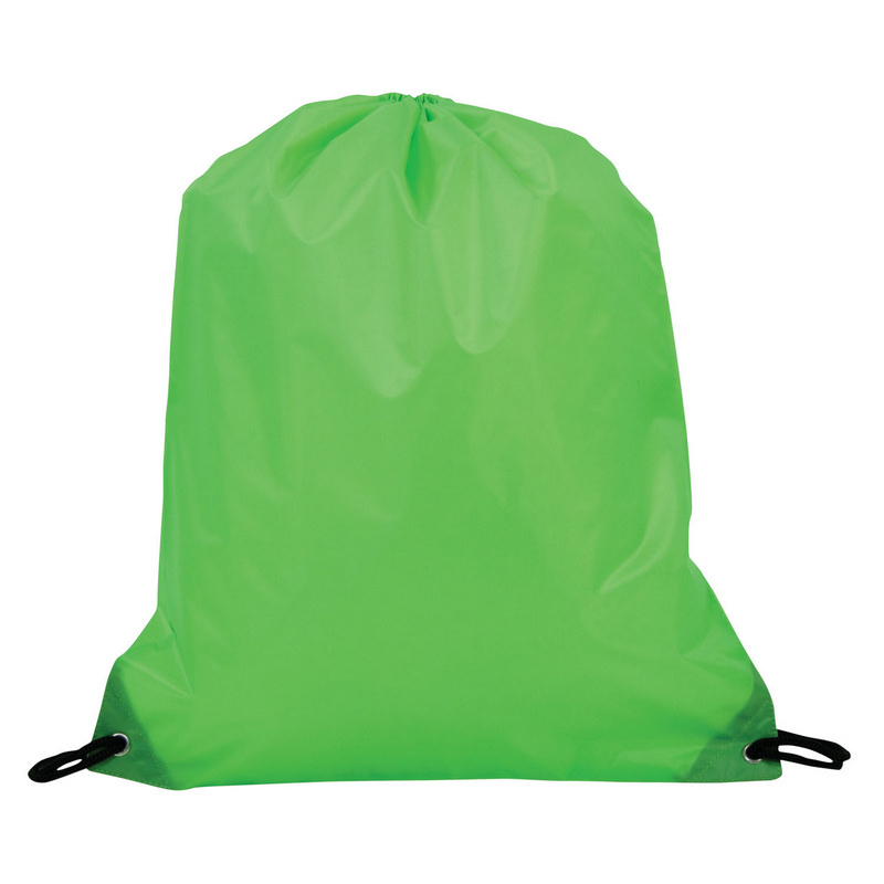Drawstring Bag 210D - Lime Green (DS150G_MXM)