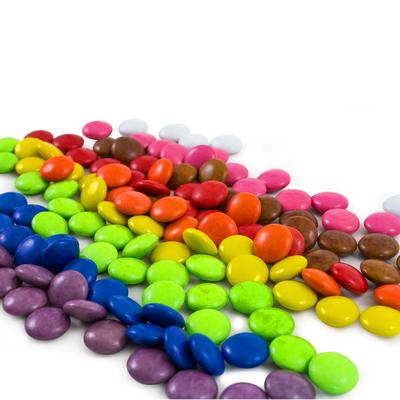 Confectionery 40gm Bag - Rainbow Buttons (E250_MXM)