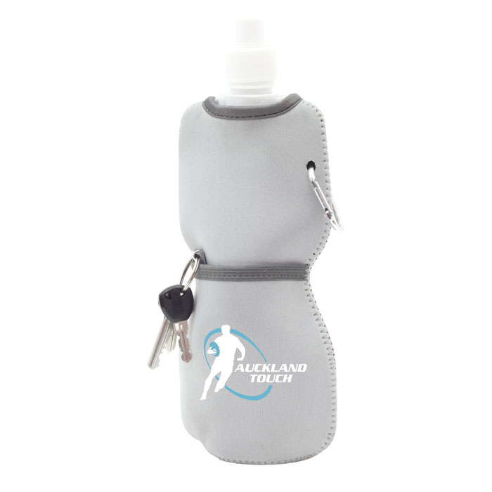 Foldable Bottle In Neoprene Sleeve