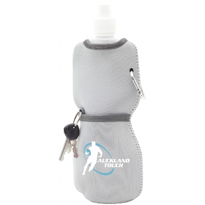 Foldable Bottle with Neoprene Sleeve