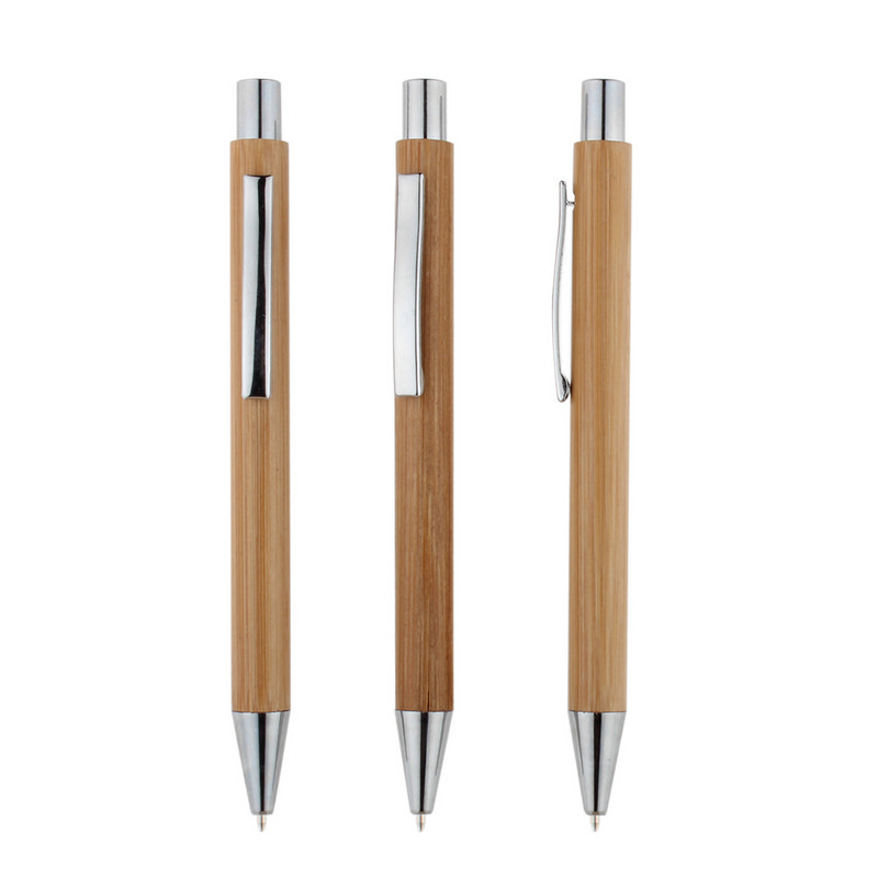 Zhu Bamboo Pen - Chrome Trim (P901C_MXM)