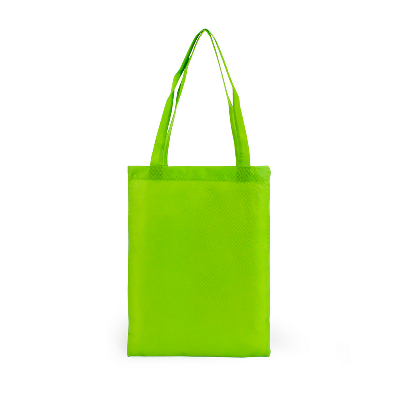 A4 Non Woven Tote - Lime Green (S1015L_MXM)
