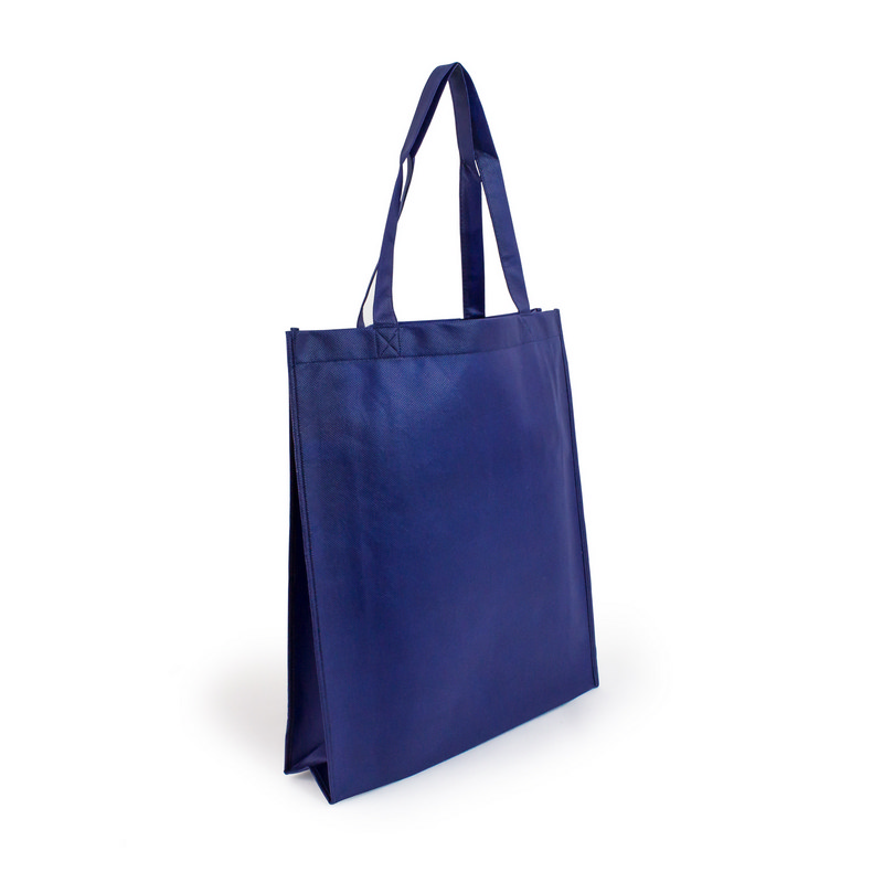 Non Woven Shopper - Navy Blue (S1018NB_MXM)