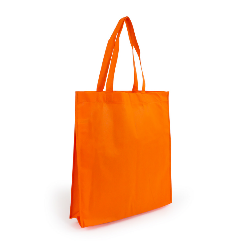 Non Woven Shopper - Orange (S1018O_MXM)