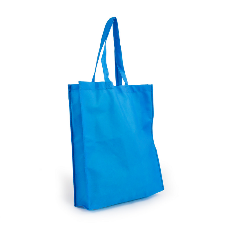 Non Woven Shopper - Process Blue (S1018PB_MXM)