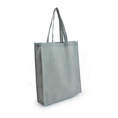 Non Woven Shopper - Silver (S1018S_MXM)