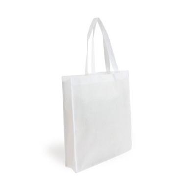Non Woven Shopper - White (S1018W_MXM)