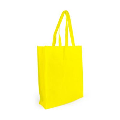 Non Woven Shopper - Yellow (S1018Y_MXM)