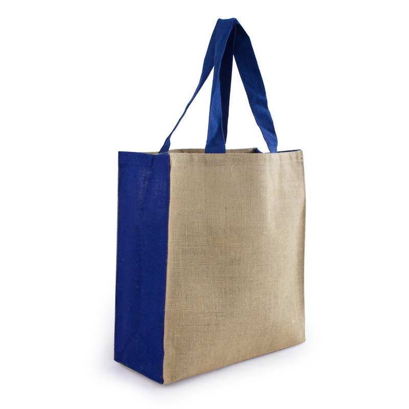 Jute Carry All - Blue (S3003_MXM)
