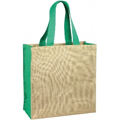 Jute Carry-All - Green