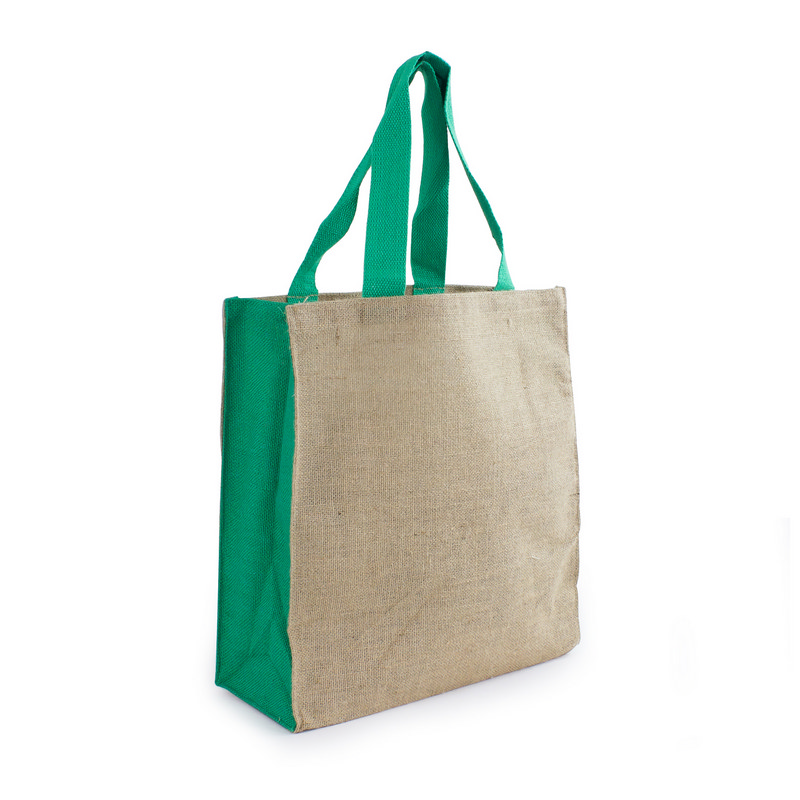 Jute Carry All - Green (S3004_MXM)