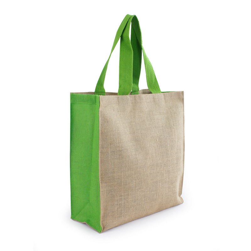 Jute Carry All - Lime Green (S3006_MXM)
