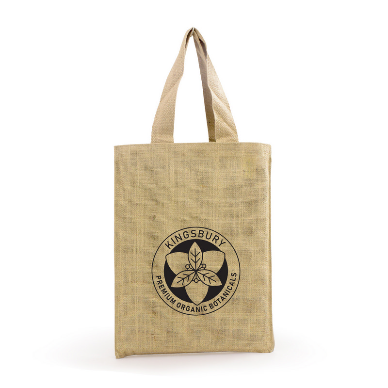 A4 Jute Shopper Bag (S3009_MXM)
