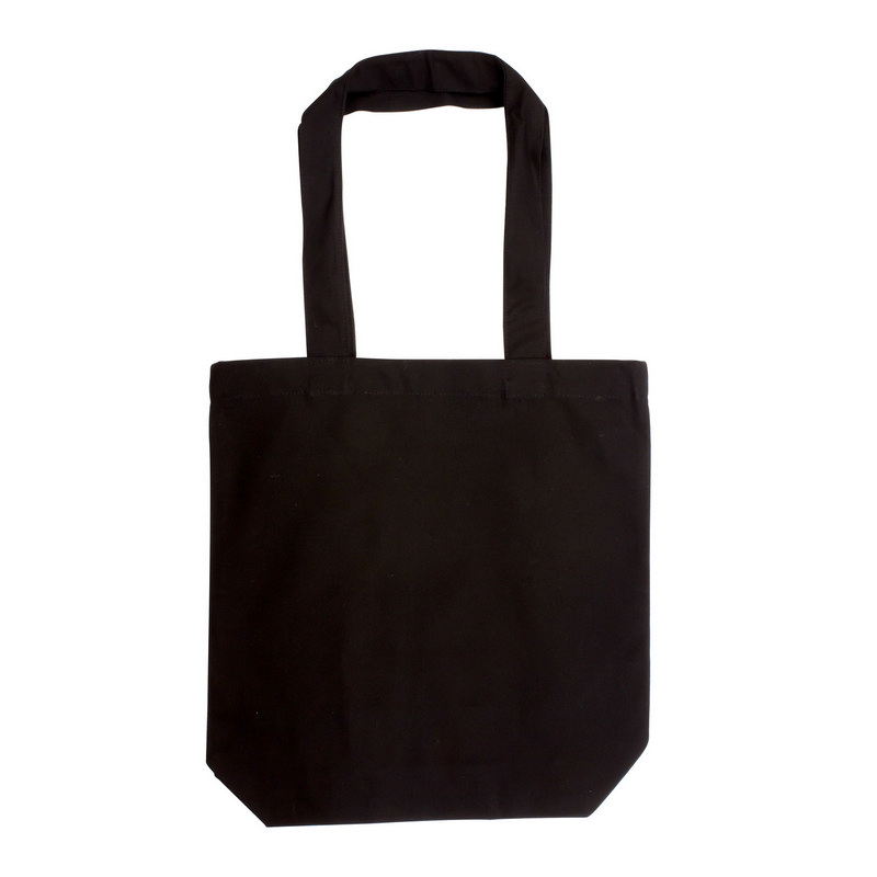 Canvas Tote Bag - Black (S3016B_MXM)