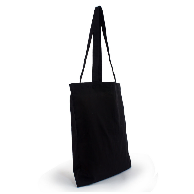 Cotton Tote Bag - Black (S3017B_MXM)