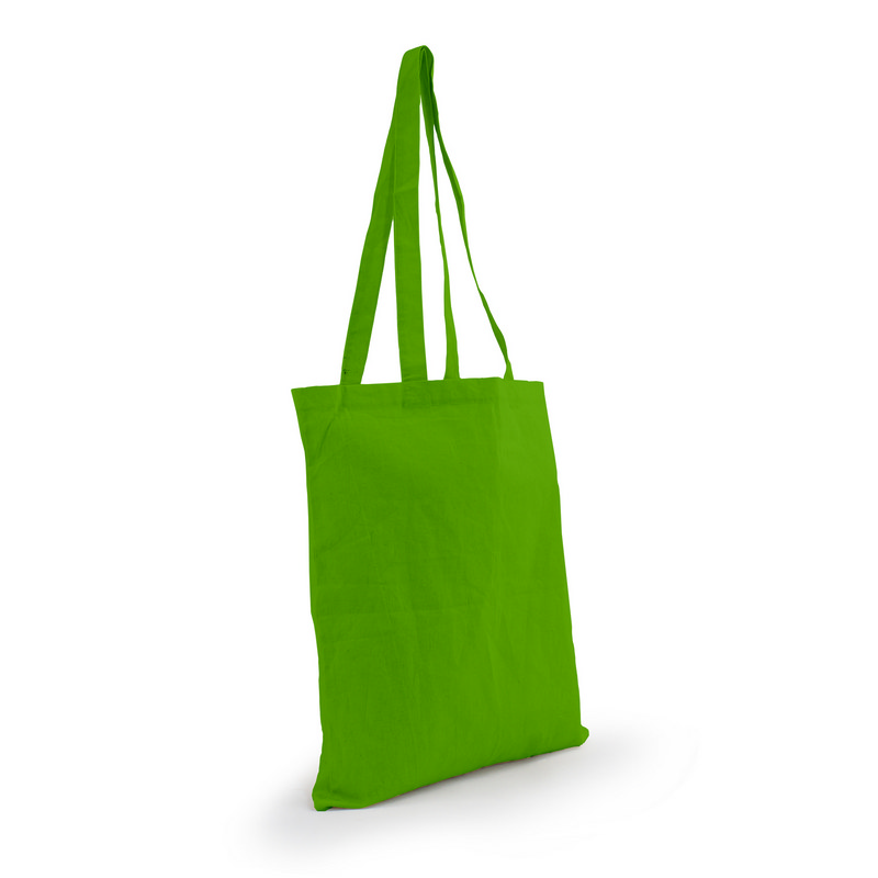 Cotton Tote Bag - Lime Green (S3017G_MXM)