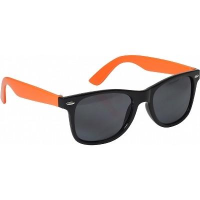 Retro Sunglasses - Orange