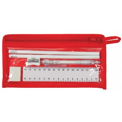 Delta Stationery Set - Red