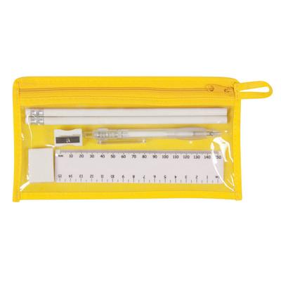 Delta Stationery Set - Yellow (SS506_MXM)