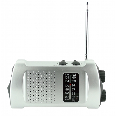 Dynamo AM/FM Radio Torch