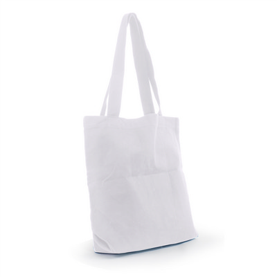 Canvas Tote Bag - White (S3016W_MXM)